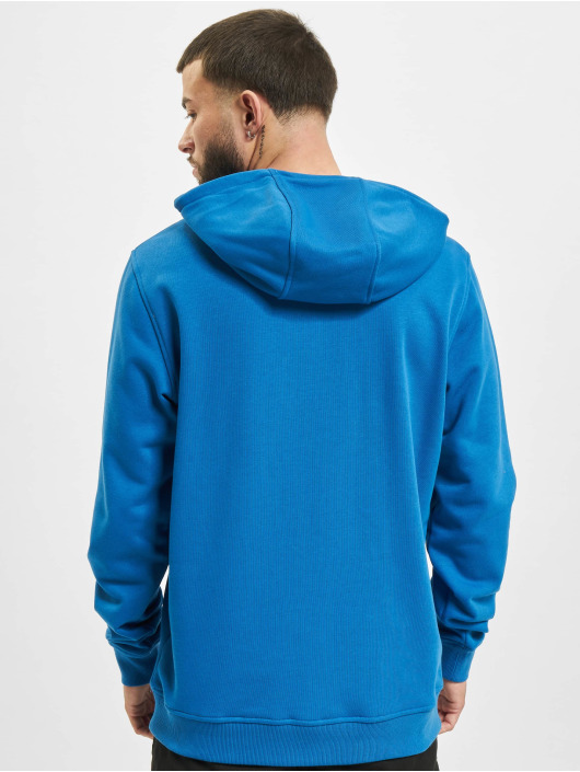 Urban Classics Hoody Basic Terry blauw