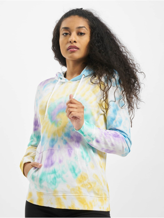 Urban Classics Hoody Ladies Tie Dye bunt