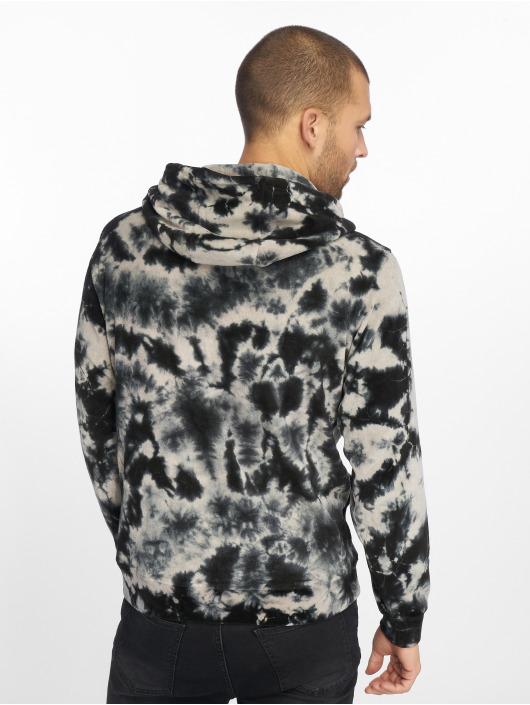 Urban Classics Hoody Velvet Tie Dye grau