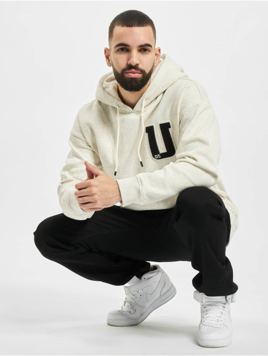 Urban Classics Hoody Oversized Frottee Patch grau