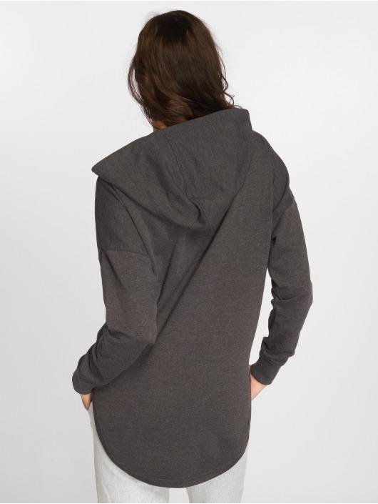 Urban Classics Hoody Ladies Oversized Terry grijs