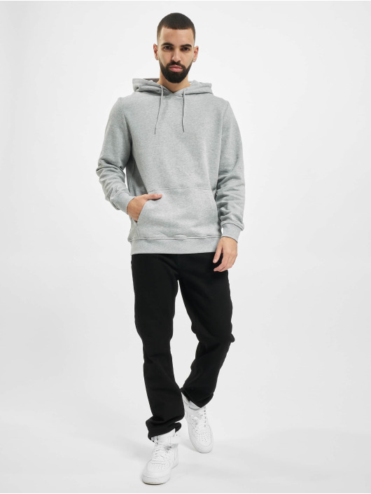 Urban Classics Hoody Organic Basic grijs
