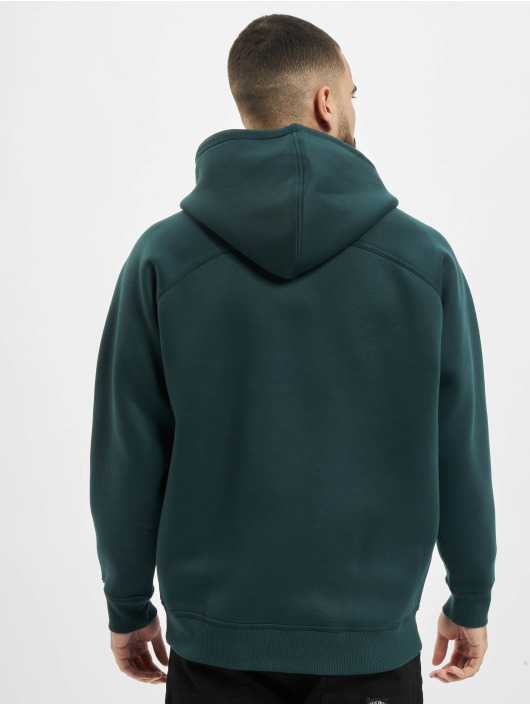 Urban Classics Hoody Raglan Zip Pocket grün