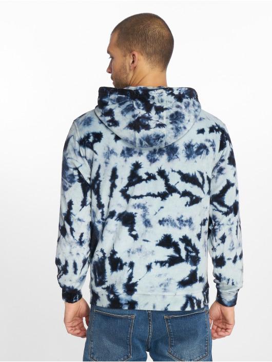 Urban Classics Hoody Velvet Tie Dye indigo