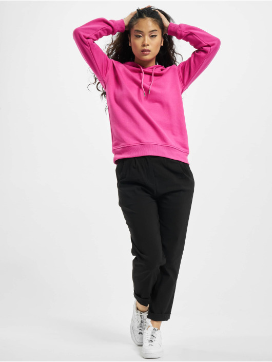 Urban Classics Hoody Ladies pink