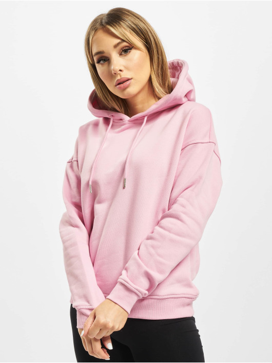 Urban Classics Hoody Ladies rosa