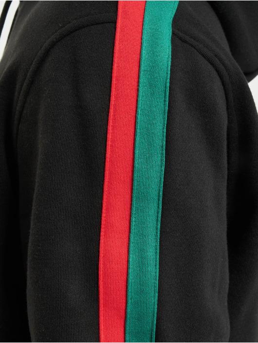 Urban Classics Hoody Stripe Hoody schwarz