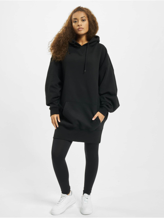 Urban Classics Damen Hoody Long Oversize in schwarz 476468