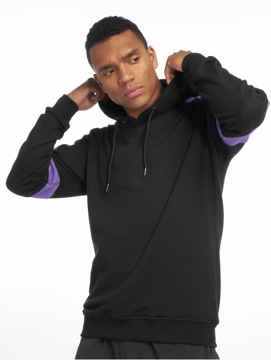 Urban Classics Hoody Terry Panel schwarz