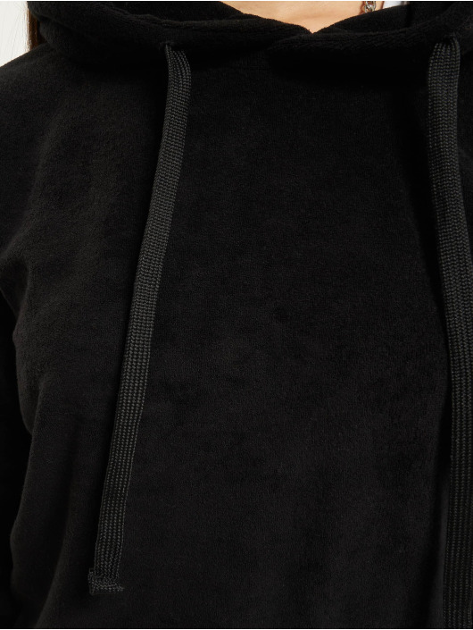 Urban Classics Hoody Towel schwarz