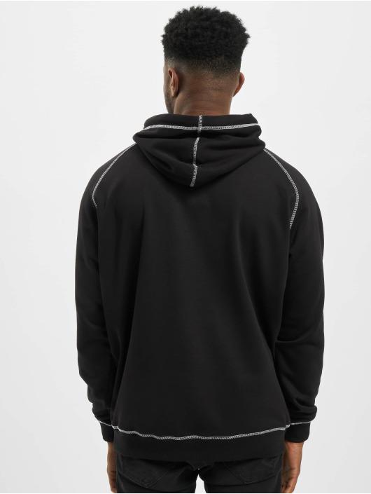 Urban Classics Hoody Contrast Stitching schwarz