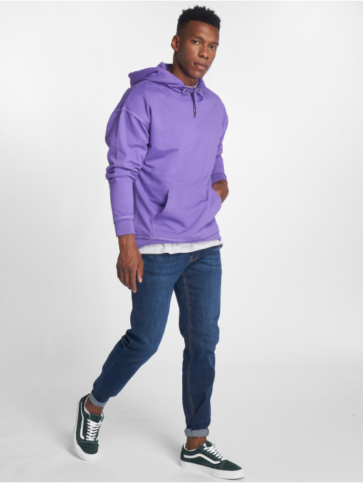 Urban Classics Hoody Oversized Sweat violet