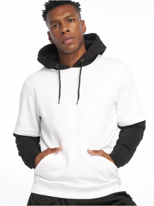 Urban Classics Hoody Double Layer weiß