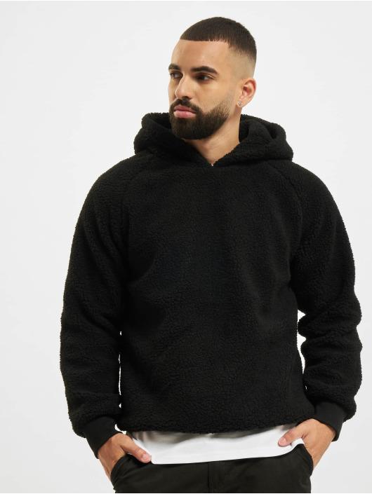 Urban Classics Hoody Sherpa zwart