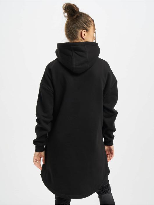 Urban Classics Hoody Ladies Long Oversized Pull Over zwart