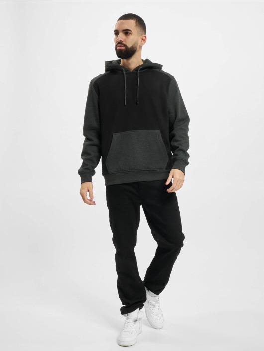 Urban Classics Hoody 2-Tone Fake zwart