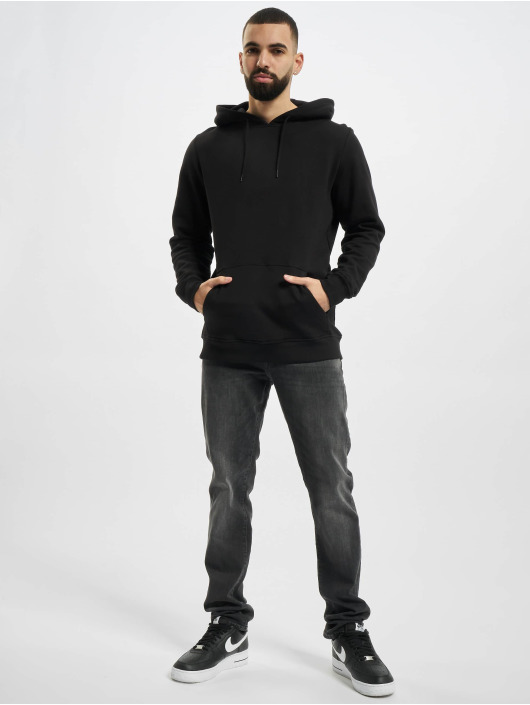 Urban Classics Hoody Organic Basic zwart