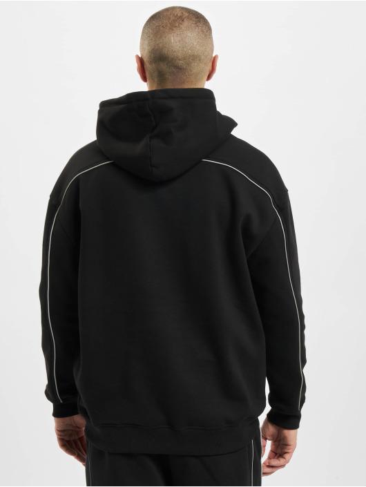 Urban Classics Hoody Reflective zwart
