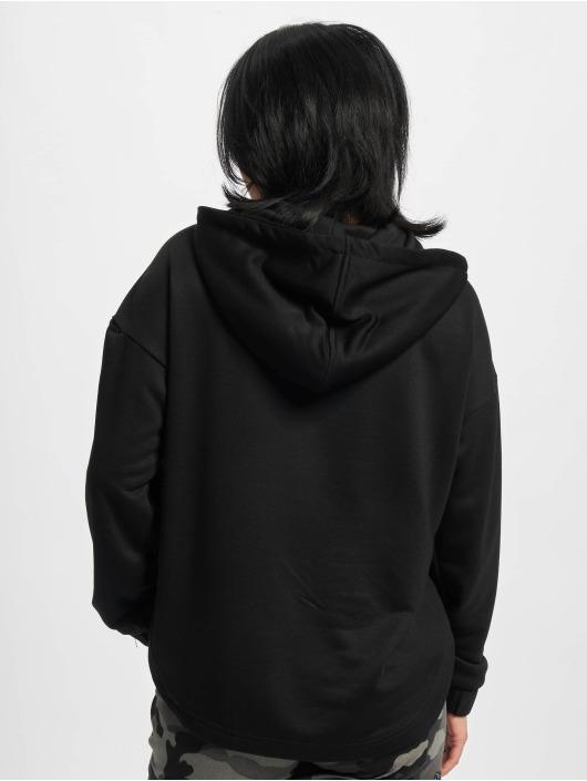 Urban Classics Hoody Ladies Oversized Shaped Modal Terry zwart