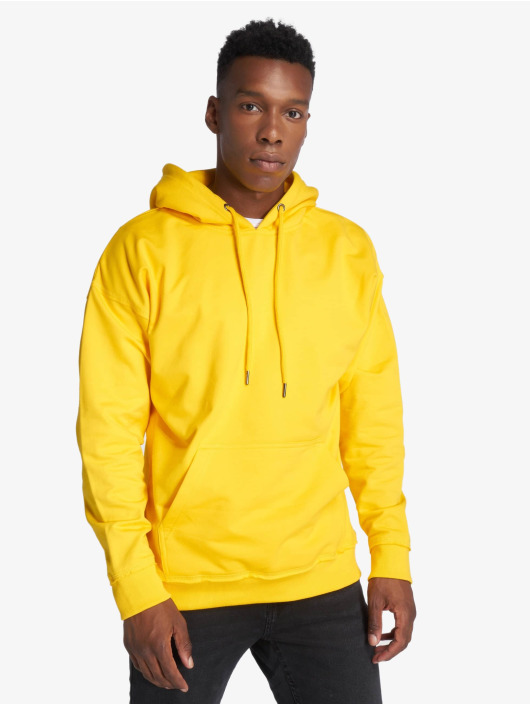 Urban Classics Hupparit Oversized Sweat keltainen
