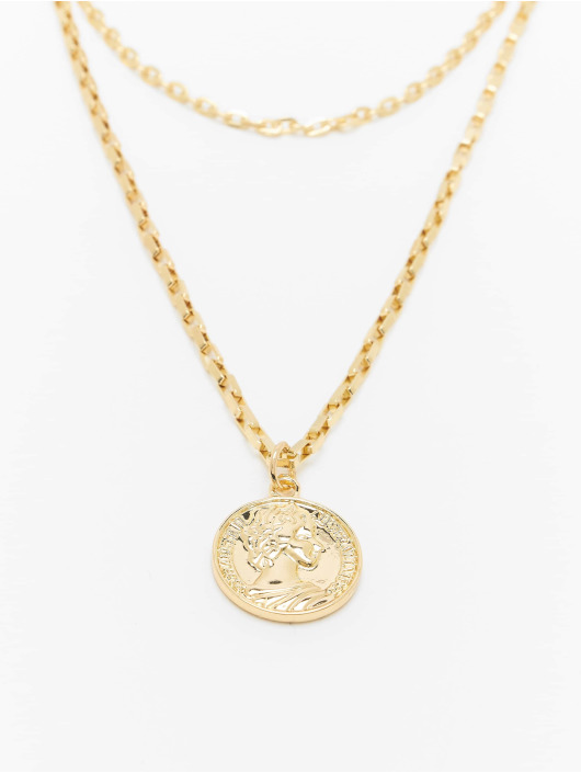 Urban Classics Iné Layering Amulet zlatá