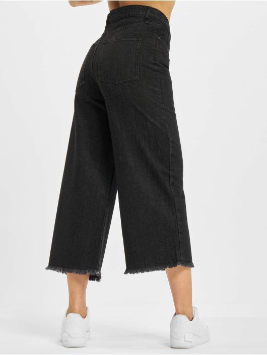 Urban Classics Jean large Denim Culotte noir