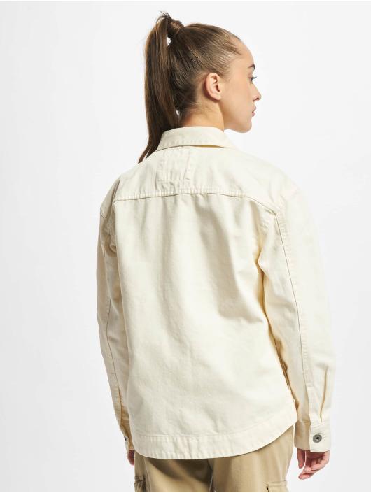 Urban Classics Jeansjacken Ladies Oversized beige