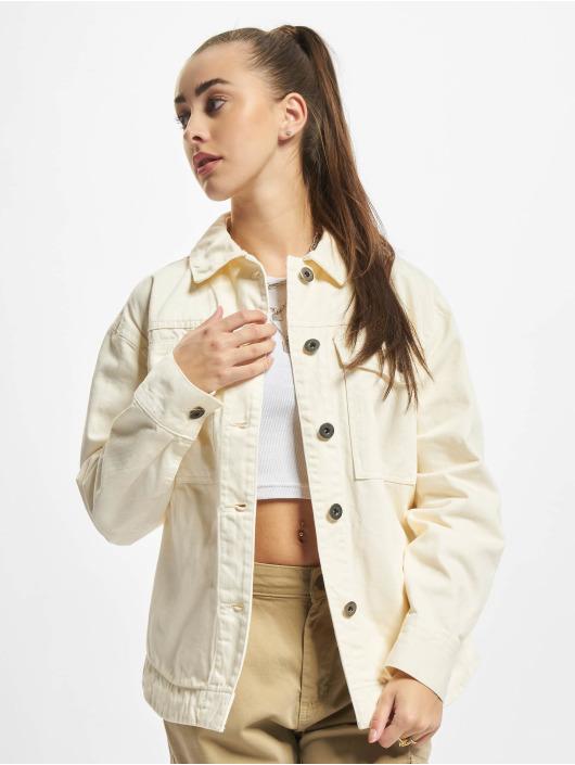 Urban Classics Jeansjackor Ladies Oversized beige
