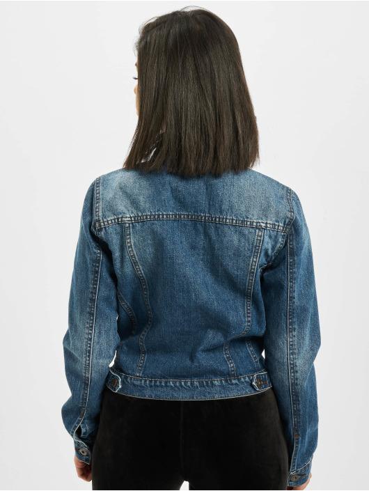 Urban Classics Jackor Jeansjackor Ladies Denim i blå 305203