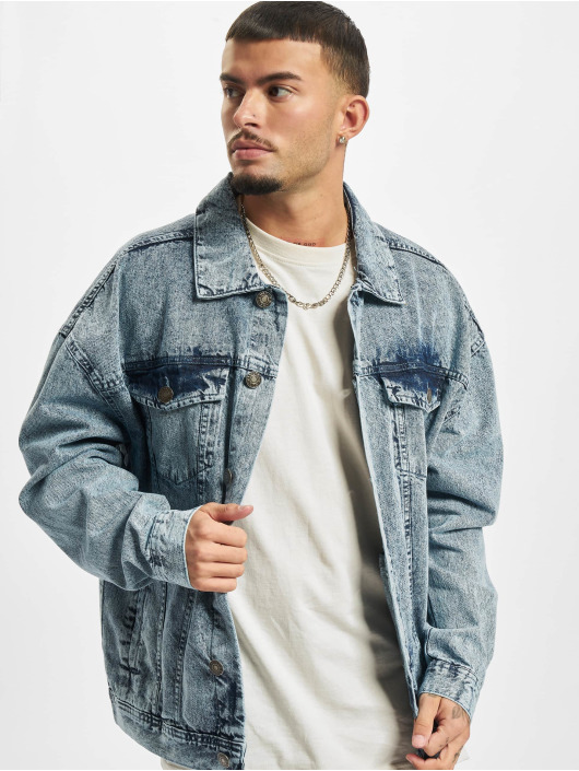Urban Classics Jeansjackor Oversized Denim blå
