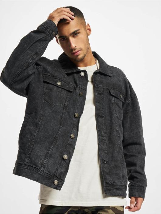 Urban Classics Jeansjackor Oversized Denim svart