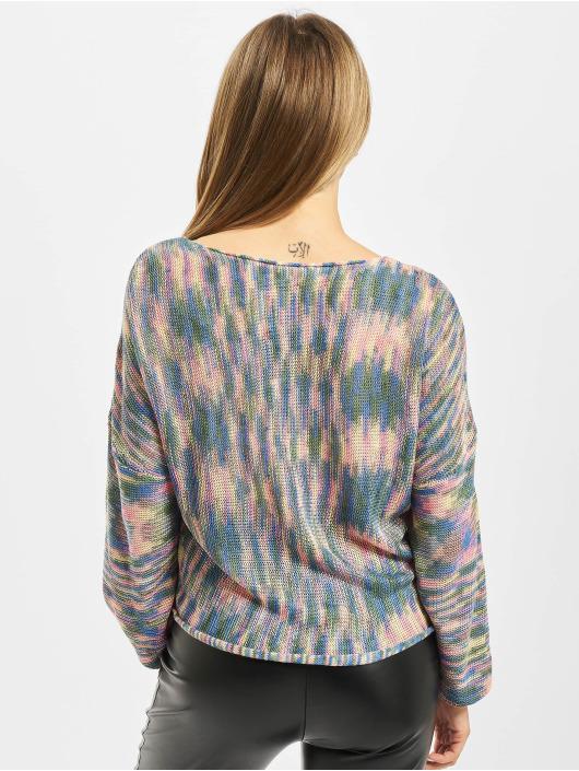 Urban Classics Jersey Ladies Oversized Sweater fucsia