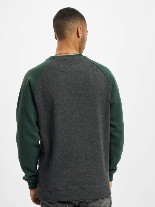Urban Classics Jersey 2-Tone Raglan gris