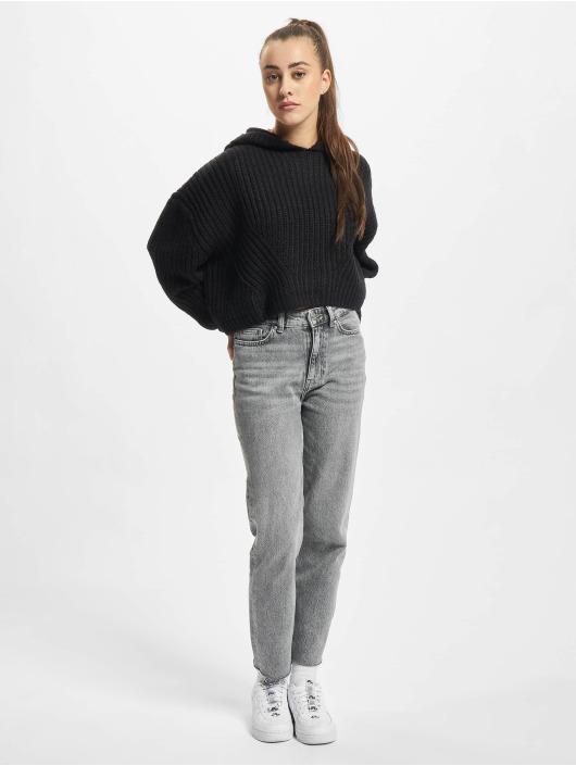 Urban Classics Jersey Ladies Oversized negro