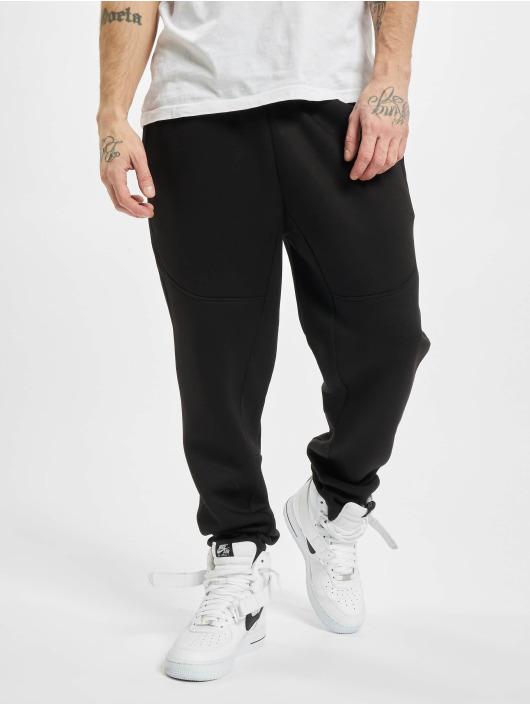 Urban Classics Jogging kalhoty Cut And Sew čern