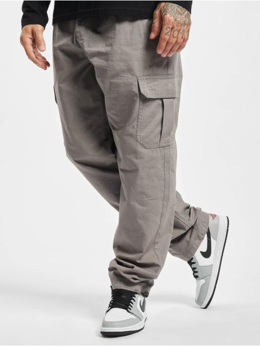 Urban Classics Jogging kalhoty Ripstop šedá