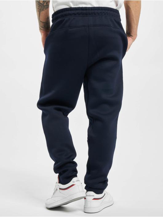 Urban Classics Jogging kalhoty Cut And Sew modrý