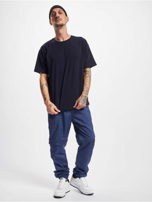 Urban Classics Jogging kalhoty Zip Away modrý