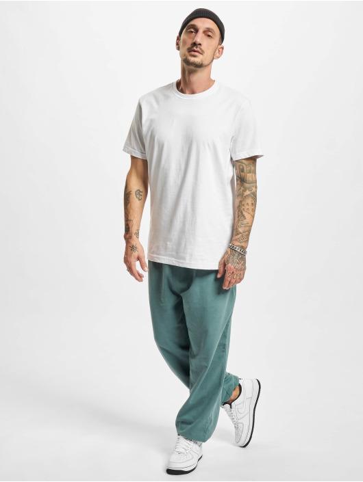 Urban Classics Jogging kalhoty Overdyed modrý