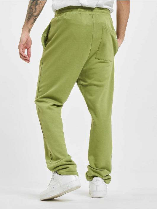 Urban Classics Jogging kalhoty Organic Low Crotch olivový