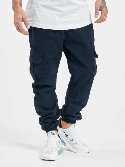 Urban Classics joggingbroek Cargo blauw