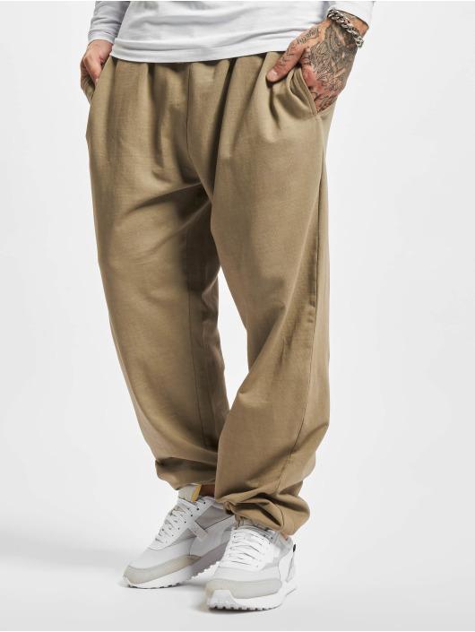 Urban Classics joggingbroek Overdyed khaki