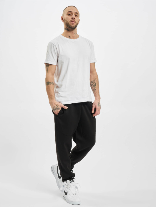 Urban Classics joggingbroek Cut And Sew zwart