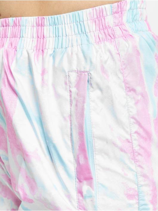 Urban Classics Joggingbukser Ladies Tie Dye blå