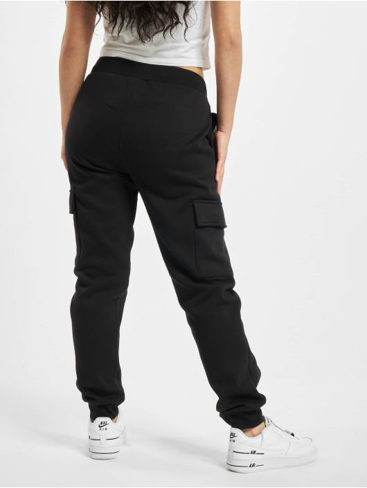 Urban Classics Joggingbukser Ladies Cargo sort