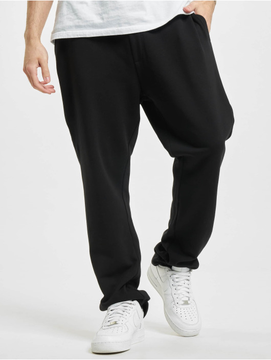 Urban Classics Joggingbukser Organic Low Crotch sort