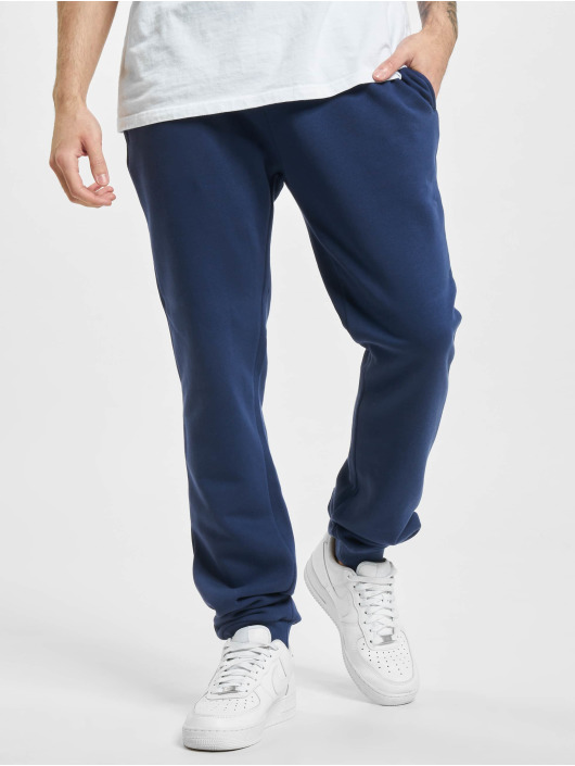 Urban Classics Joggingbyxor Organic Basic blå