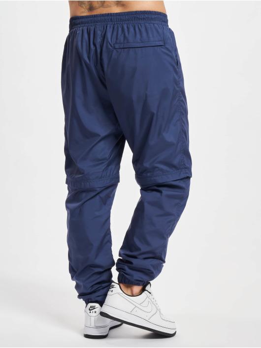 Urban Classics Joggingbyxor Zip Away blå