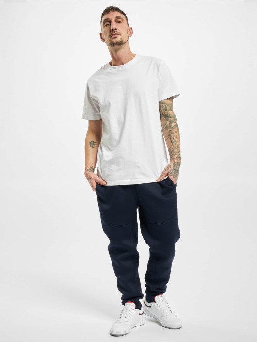 Urban Classics Jogginghose Cut And Sew blau