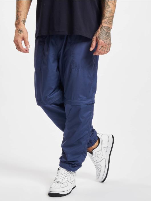 Urban Classics Jogginghose Zip Away blau